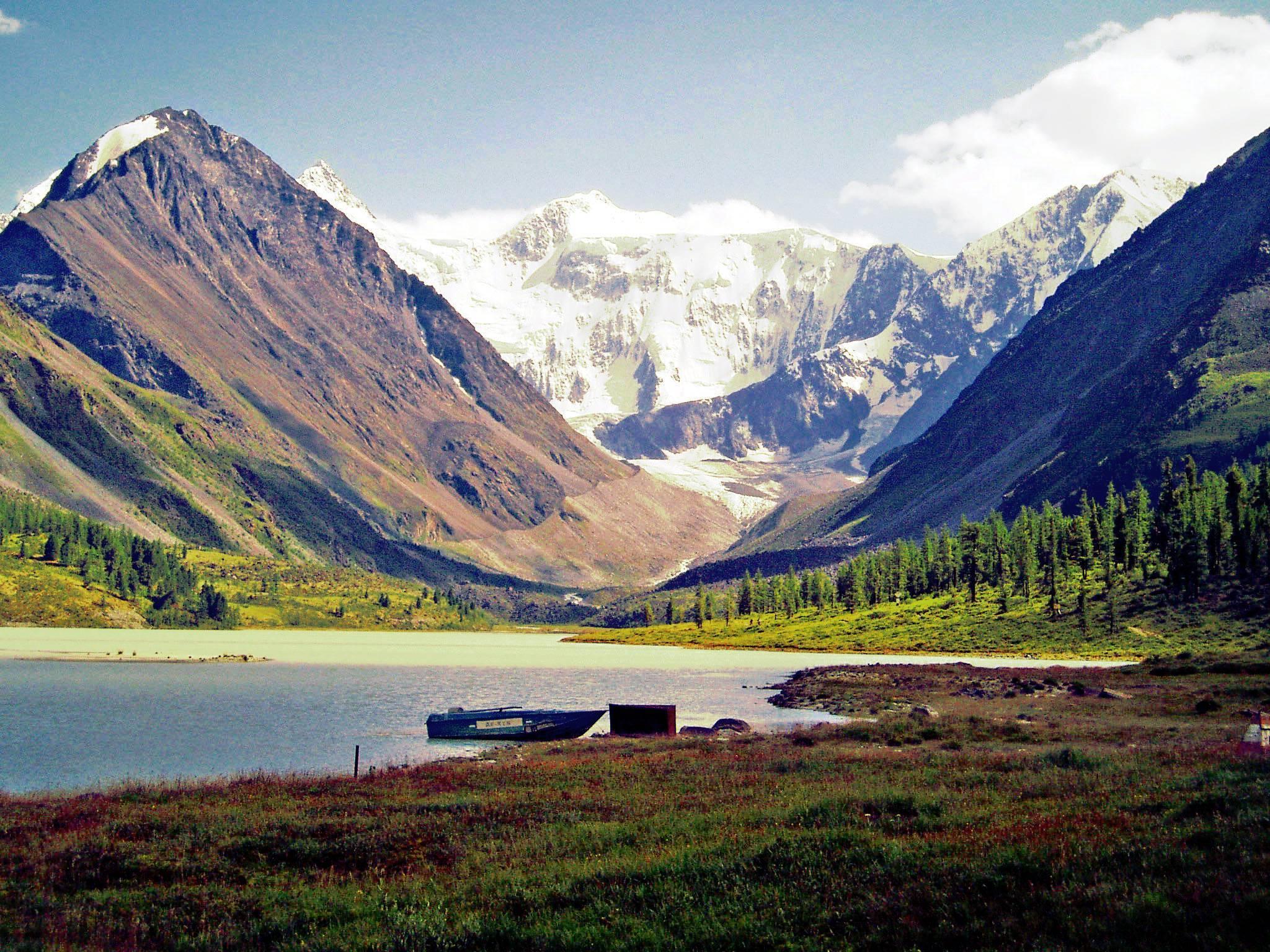 Озеро горных духов. Горный Алтай