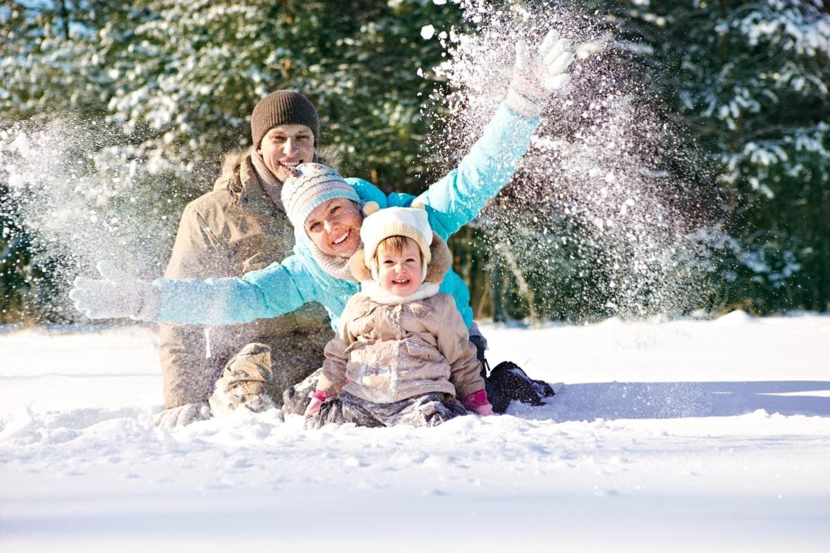 Новый год на Алтае с ребенком