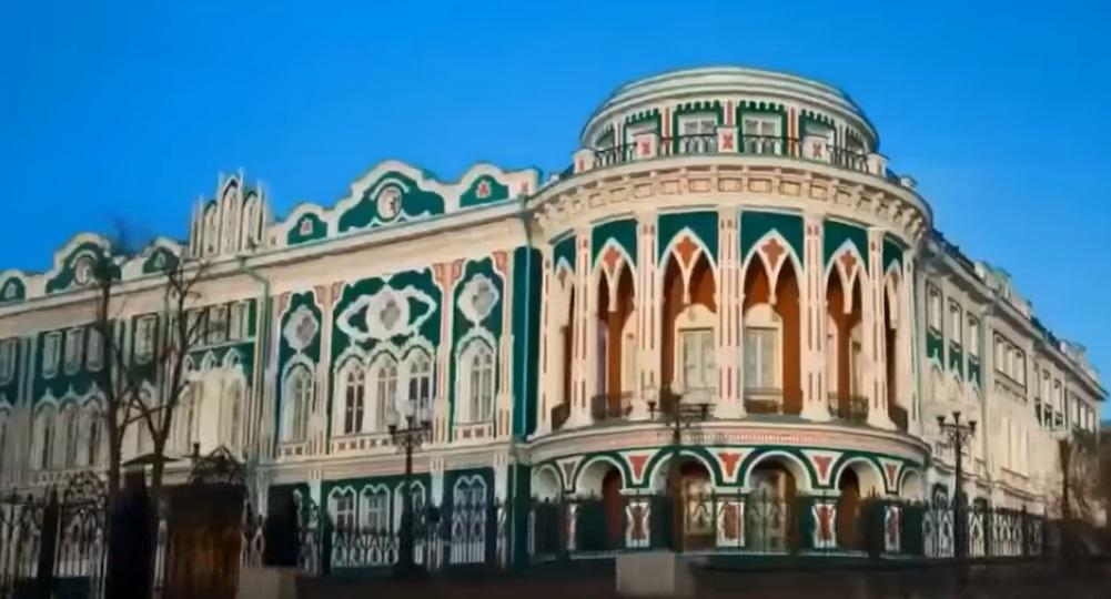 Екатеринбург зимой